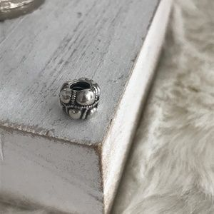Pandora Bumps in the road Charm Silver